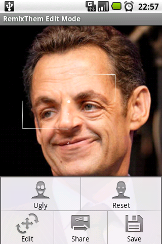 Sarkozy remixed